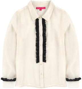 Derhy Kids Blouse with a jabot