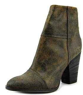 Luca Valentini Rem Round Toe Synthetic Ankle Boot.