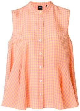 Aspesi vichy button shirt
