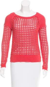 Ella Moss Open Knit Wool-Blend Sweater w/ Tags