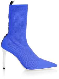 Pinko Women's Blue Polyamide Ankle Boots.