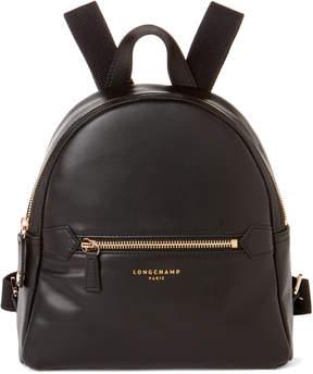 Longchamp Black Leather 2.0 Backpack