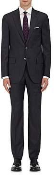 Isaia Men's Sanita Striped Wool Two-Button Suit