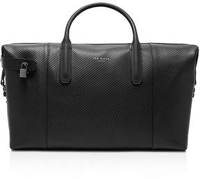 Ted Baker Novana Carbon Fibre Leather Holdall