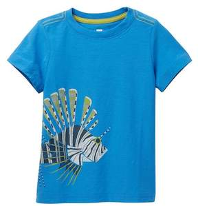 Tea Collection Lion Fish Graphic Tee (Toddler, Little Boys, & Big Boys)