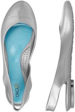 OKA b. Silver Brooke Ballet Flat - Women