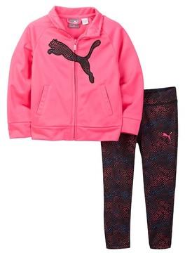Puma Tricot Jacket & Legging 2-Piece Set (Little Girls)