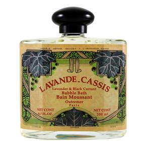 L'Aromarine Lavande Cassis Bubble Bath by Outremer, formerly 6.7floz Bubble Bath)