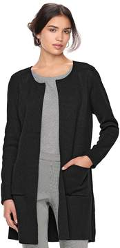 Elle Women's ElleTM Long Cardigan Jacket