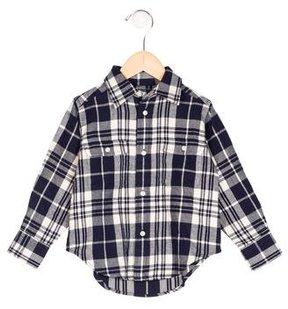 Polo Ralph Lauren Boys' Plaid Button-Up Shirt