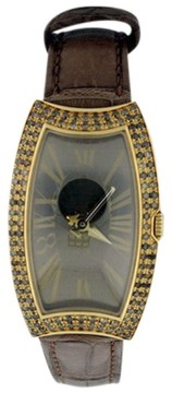 Bedat & Co 384.380.400 18K Yellow Diamonds Womens 27mm Watch