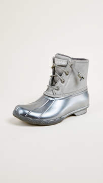 Sperry Saltwater Pearlized Rain Boots
