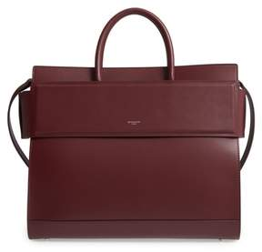 Givenchy Horizon Calfskin Leather Tote - Red