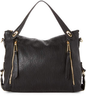 Jessica Simpson Black Roxanne Crossbody Satchel