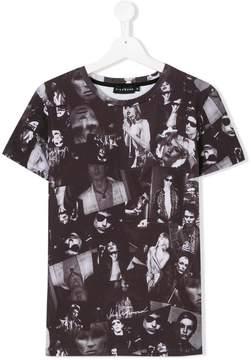 John Richmond Kids TEEN photograph print T-shirt