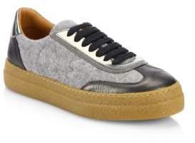 Brunello Cucinelli Velvet Sneakers