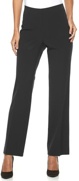 Croft & Barrow Women's Hollywood Straight-Leg Dress Pants