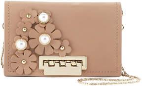 Zac Posen Earthette Leather Card Case w/Strap