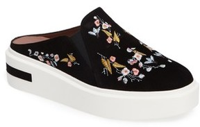 Linea Paolo Women's Fab Ii Embroidered Platform Sneaker
