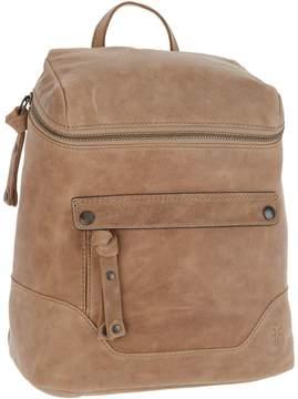 Frye Leather Melissa Zip Backpack
