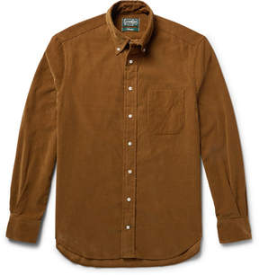 Gitman Brothers Slim-Fit Button-Down Collar Cotton-Corduroy Shirt