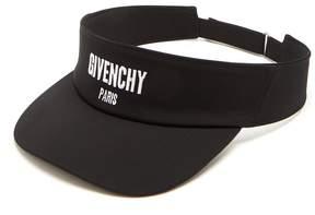 Givenchy Logo-embroidered visor