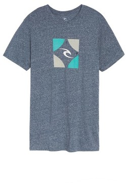 Rip Curl Men's Boxed Logo Graphic T-Shirt