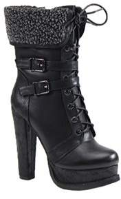 Luichiny Women's Short Cut Bootie.