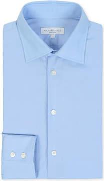 Richard James Poplin tailored-fit single-cuff shirt