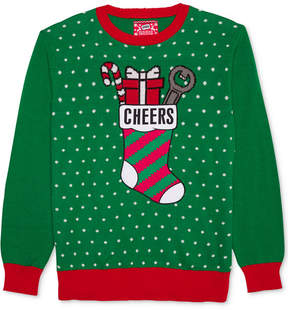 Hybrid Men's Cheers Holiday Sweater