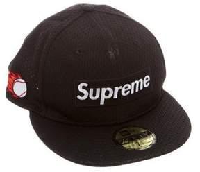 New Era x Supreme Mesh Logo Cap
