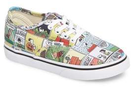 Vans Infant Girl's X Peanuts Authentic Low Top Sneaker