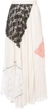 Derek Lam 10 Crosby Pleated Midi Skirt