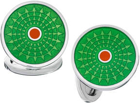 Jan Leslie Sterling Silver Ferris Wheel Cuff Links