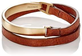 Miansai Men's Moore Half Cuff Double-Wrap Bracelet