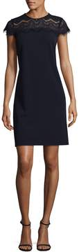 Donna Ricco Women's Embroidered Lace Dress