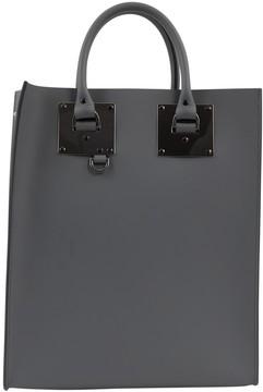 Sophie Hulme Grey Leather Handbag