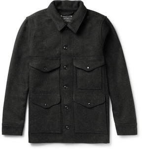 Filson Mackinaw Cruiser Wool-Felt Overshirt