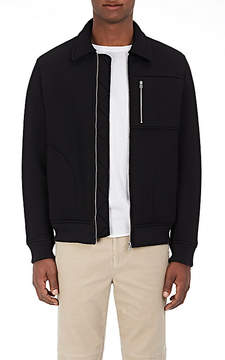 ATM Anthony Thomas Melillo Men's Bonded Neoprene Jacket