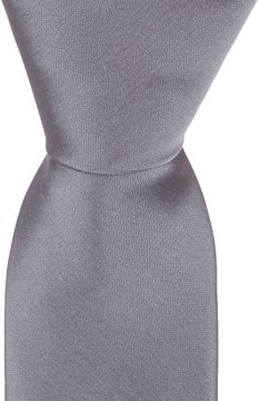 Murano Solid Skinny Silk Tie