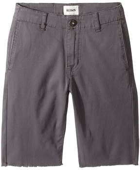 Hudson Beach Daze Shorts in Unconquer Grey (Big Kids)