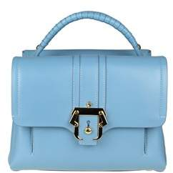 Paula Cademartori Women's Light Blue Leather Handbag.