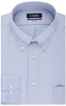 Chaps Big & Tall Regular-Fit Non-Iron Stretch Button-Down Collar Dress Shirt