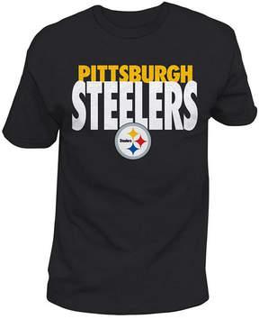 Authentic Nfl Apparel Men's Pittsburgh Steelers Stunt Blitz T-Shirt