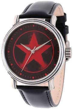 Marvel Avengers Mens Black Strap Watch-Wma000207