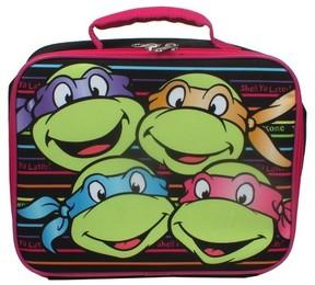 Nickelodeon Teenage Mutant Ninja Turtle Insulated Lunch Box Girls - Black