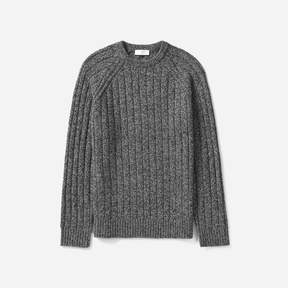 Everlane The Wool-Cashmere Rib Crew