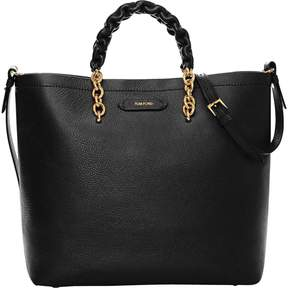 Tom Ford Black Leather Handbag