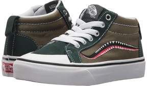 Vans Kids Racer Mid Winter Moss/Green Gables) Boy's Shoes