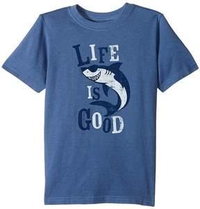 Life is Good Shark Crusher Tee Boy's T Shirt
